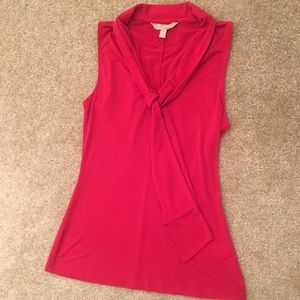 Banana Republic dress tank with front tie